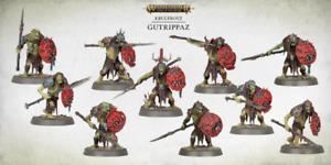Warhammer Age of Sigmar DOMINION Orruk Orc Kruleboyz 10x Gutrippaz NOS
