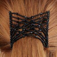 Trend Magic Combs Haarklammer Butterfly Pailletten African Hairclip
