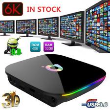 Q Plus 6K 4+32GB  Android 9.0 Smart TV Box Quad Core WIFI HD Media Player L5K9