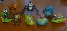 A BUG'S LIFE..8 x COMPLETE SET..McDONALDS HAPPY MEAL FIGURES 1998..EX