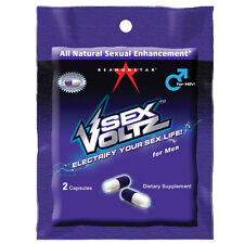 Sex Voltz  2-Pill Pack Male Sexual Enhancement