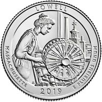 2019 S Proof Silver Lowell ATB Quarter ☆☆ .999 Fine Silver
