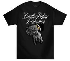 Mafioso Sister Monroe Mens Black T-Shirt Firearm Gun Tattoo Streetwear MMA UFC