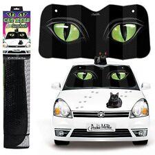 Sun Shade Protector Giant Cat Eyes Window Auto Car Truck Front Windshield Visor
