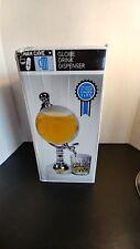 Water Dispenser Globe Beer Unique Beverage Mini Decorative Drinks Bars nib