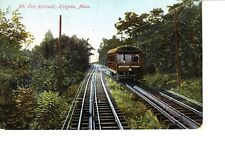 Holyoke, MA   Mount Tom Railroad  Cable Car @ 1906