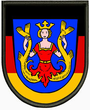 Wappen von Isen ,Pin, Aufbügler
