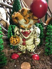 Neil Eyre Halloween Horror Clown Pennywise IT Inspired Pumpkin red balloon 🎈