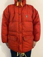 Fjallraven Expedition Down Puffer Puffa Men's Winter Jacket Red Size- XL / XXL