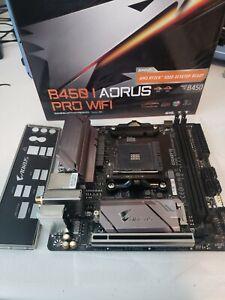 GIGABYTE B450 I AORUS PRO WIFI Mini-ITX Motherboard DDR4 AMD B450 AM4 USB 3.1