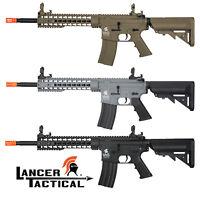 Lancer Tactical LT-19 Gen 2 Keymod M4 Electric Airsoft Rifle Black Tan or Gray