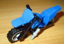 1 x LEGO® City,Cross Motorrad in blau /& Minifigur Neuware