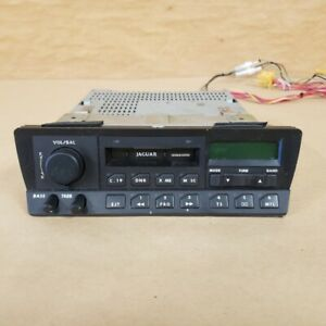 Jaguar XJ6 1988-90 Original AM FM Cassette Radio DBC2459 OEM