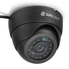 "SUNLUXY 1/4"" 700TVL CMOS IR CCTV Dome Camera Indoor Security night vision"