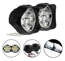 12V 30W 18LED Dual Motorcycle Spot Light Fog Driving Lamp Twin Headlight White