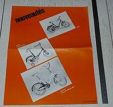 PUBLICITE CYCLES MERCIER SAINT-ETIENNE VELOS ENFANTS TRICYCLES ANNEES 70-80