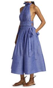 Zimmermann Botanica Halter Gown Dress -BNWT- RRP$1,750 AUD