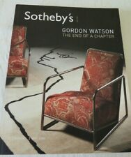 Sothebys London Auction Catalogue Gordon Watson The end of chapter 3rd May 2006