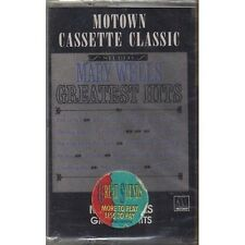 MARY WELLS - Greatest hits - MUSICASSETTA MK7 1964 SEALED