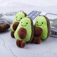13cm Avocado Keychain Fruits Stuffed Plush Toy Doll Key ring  Child Toy Gift_ti