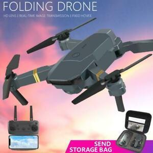 E58 FPV Wifi HD Camera Drone Aircraft Foldable Quadcopter Toy LZ Selfie R5X8