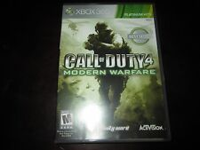 Call of Duty 4: Modern Warfare (Microsoft Xbox 360, 2007) Platinum Hits