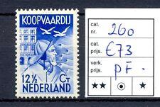 NEDERLAND #260  KW € 73     **  PF  PR EX   @2