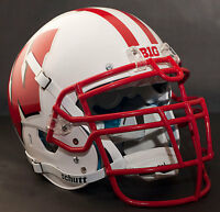 *CUSTOM* WISCONSIN BADGERS NCAA Schutt XP GAMEDAY Replica Football Helmet