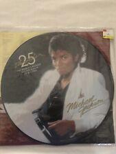 "MICHAEL JACKSON Thriller 25 limited edition picture disc 12""  LP Quincy Jones"