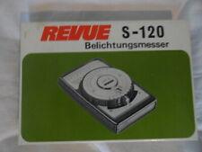 REVUE S-120 Belichtungsmesser Boxed