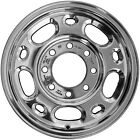 16x6.5 5 Larger 5 Small Oval Take-Off Chevrolet Aluminum Wheel Polished 05079