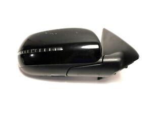 2010-2013 POWER FOLDING PASSENGER Kia Forte KOUP SX Mirror Right Fold Black Door