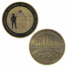 Honoring Remembering 11 September 2001 Commemorative Coin Challenge Token Gift