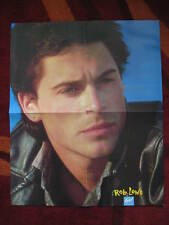 Large Rob Lowe b/w Clark Datchler Poster From Girl Magazine 1980's