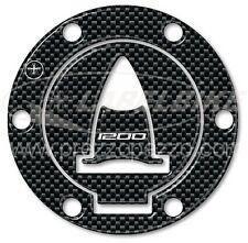 Tappo Serbatoio ADESIVI 3D CARBONIO PROTEZIONE per MOTO DUCATI MULTISTRADA 1200