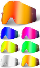 Goggle-shop Lente Espejo De Fit 100% Racecraft Accuri estratos Mx Motocross Goggles