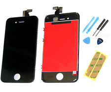 IPhone 4S LCD Display Touch Screen Digitizer Frontale Vetro Pannello Nero strumenti NUOVO