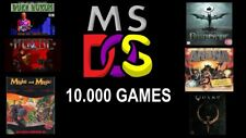 MS DOS RETRO GAMES COLLECTION OVER 10.000 GAMES