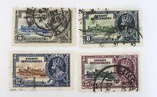 Straits Settlements Sg 256/259 F/u Cat £21