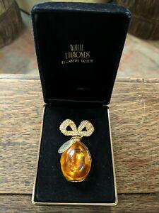 White Diamonds Elizabeth Taylor Gift Bottle Jeweled