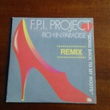 F.P.I. PROJECT - RICH IN PARADISE (REMIX) - ZYX MAXI-CD IM PAPPCOVER