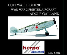 HERPA WINGS LUFTWAFFE BF109E 1/87 JG26 HPTM ADOLF GALLAND | BN | 744089