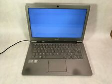"""New listing Acer Aspire S3 Ms2346 13.3"""" Laptop Intel Core i5 2nd Gen -Parts -Rr"""