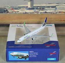 """Herpa Wings United """"Eco Skies"""" B737-800Sc (NG) 1/500"""