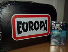 """Die drei Fragezeichen """"Schrecken aus der Tiefe"""" MC (193) & Kassetten Koffer, NEU"""