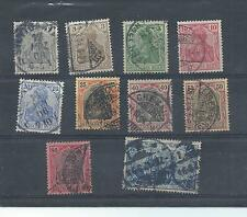 Germany stamps. 1902 Germania used. (V708)