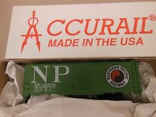 HO SCALE ACCURAIL NORTHERN PACIFIC 48659 AAR 40' STEEL BOX CAR KIT