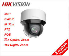 Hikvision 3MP English DS-2DE4A320IW-DE 50m IR PTZ 20X OPTICAL ZOOM dome Camera