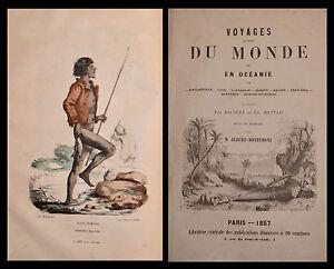 VOYAGE AUTOUR du MONDE OCÉANIE AMÉRIQUE ASIE - ALBERT-MONTÉMONT 1854-57
