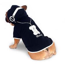 Dog coat hoodie jacket 20-45cm small- xxlarge dogs, thick fleece iBone logo NEW